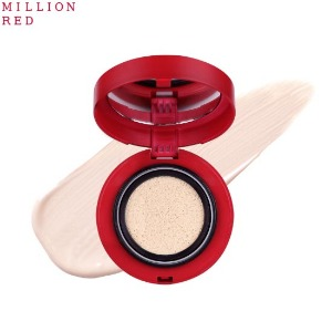 MILLION RED Shield Cushion SPF40 PA++ 12g