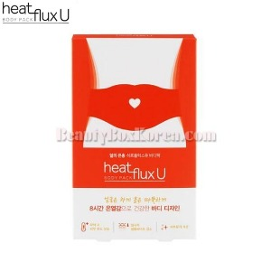 HEAT FLUX U Body Pack Corset Type 4ea 9.2g
