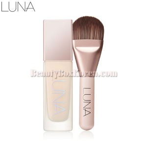 LUNA Essence Crystal Foundation & Brush Set 2items