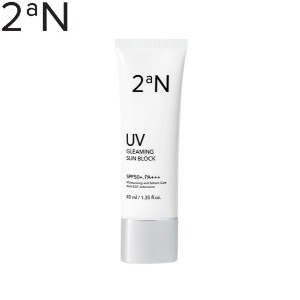 2AN Gleaming Sun Block SPF50+ PA+++ 40ml