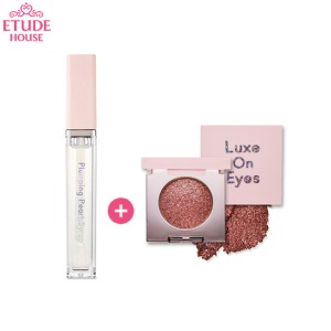ETUDE HOUSE Luxe On Eyes & Plumping Pearl Syrup Set 2items [Online Excl.],Beauty Box Korea