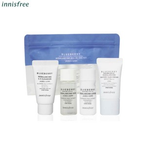 [mini] INNISFREE Blueberry Rebalancing All In One Kit 4items,Beauty Box Korea