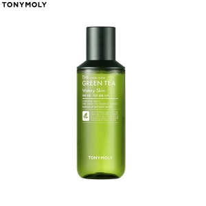 [mini] TONYMOLY The Chok Chok Green Tea Watery Skin 130ml,Beauty Box Korea
