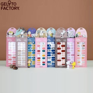GELATO FACTORY Hatto Hatto Nail Fit 1ea [SNOOPY Fall Edition]