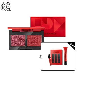 JUNGSAEMMOOL Refining Eyeshadow Double Set 3items [Red Limited Edition]