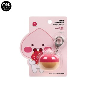 ON THE BODY Little Friends Key Ring Tinted Lip Balm 6g [ON THE BODY X LITTLE FRIENDS]