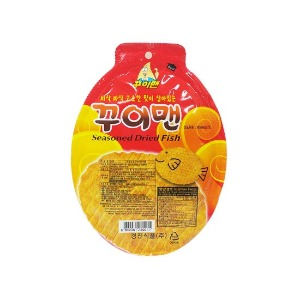GYEOGJIN FOOD Gui Man Seasoned Dried Pollack 23g*10ea