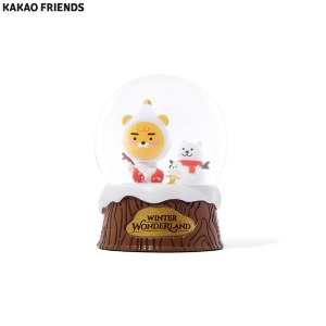 KAKAO FRIENDS Winter Wonderland Mini Snow Globe 1ea