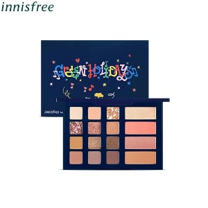 INNISFREE Mood Up Party Palette 19g [2019 Green Holiday Edition]