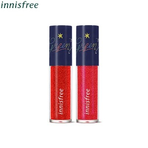 INNISFREE Sparkling Glitter Tint 5.4g [2019 Green Holiday Edition]