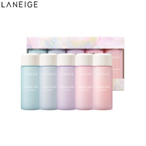 LANEIGE Cream Skin Refiner Mini Special Set 5items [Dreamful Holiday]