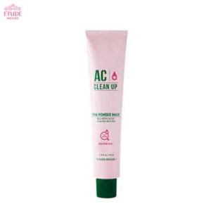 ETUDE HOUSE AC Clean Up Pink Powder Mask 100ml,ETUDE HOUSE