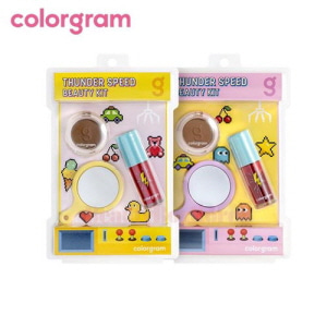 COLORGRAM Thunder Speed Beauty Kit 3items,COLORGRAM