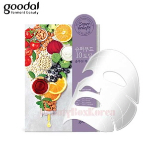 GOODAL Super Food 10 Total Solution Mask 28ml,GOODAL