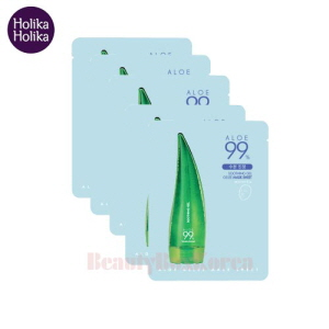 HOLIKA HOLIKA Aloe 99% Soothing Gel Gelee Mask Sheet 23ml*5ea,HOLIKAHOLIKA