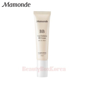 MAMONDE Total Solution BB Cream 40ml,MAMONDE