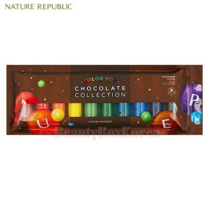 NATURE REPUBLIC Color Waltz Color Pop 7ml*10 [Chocolate Collection],NATURE REPUBLIC