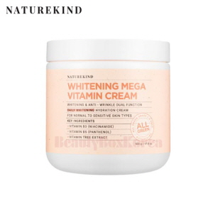 NATUREKIND Whitening Mega Vitamin Cream 500g,NATUREKIND