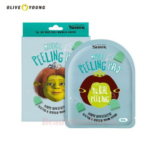 OLIVEYOUNG Dreamworks Fiona Magical Peeling Pad 8ml*5ea,OLIVE YOUNG