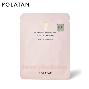 POLATAM Water Gel Extra Force Brightening Mask 25ml,POLATAM