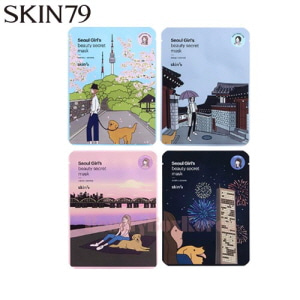 SKIN79 Seoul Girl's Beauty Secret Mask 20g*10ea,SKIN79