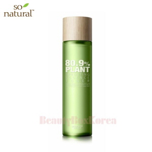 SO NATURAL 80.9% Plant Sprouting Essence Toner 175ml,SO NATURAL