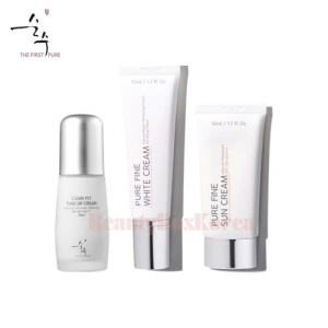 SOONSOO COSMETICS Whitening Cream Set 3items,SOONSOO COSMETICS