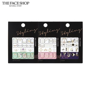 THE FACE SHOP Styling Nail Sticker 1ea,THE FACE SHOP