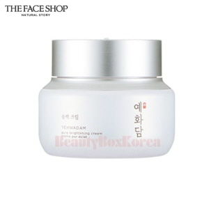 THE FACE SHOP Yehwadam Pure Brightening Cream 50ml,THE FACE SHOP