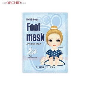THE ORCHID SKIN Orchid Flower Foot Mask 1 Pair,THE ORCHID SKIN