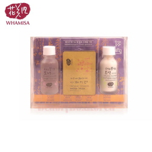 WHAMISA Organic Flowers Special Kit 3items,WHAMISA