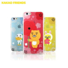 KAKAO FRIENDS Flower Jell Hard Phone Case,KAKAO FRIENDS