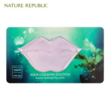 NATURE REPUBLIC Aqua Collagen Solution Marine Hydrogel Lip Patch 8g,NATURE REPUBLIC
