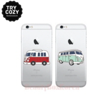 TRYCOZY 5 Items Camping Car Jelly Phone Case,TRYCOZY