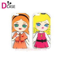 D-CASE 5Item Talk Dolls Clear Jelly Phone Case,D-CASE