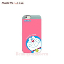 MADEWELL-CASE Doraemon Card Bumper Pink Emon,MADEWELL-CASE