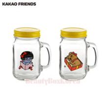 KAKAO FRIENDS Love Story Cute Drink Jar 2ea Set,Mu&U