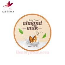 MISSHA Almond Milk Body Cream 230ml,MISSHA