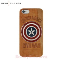 SKIN PLAYER Marvel Wood Phone Case(2Items),SKIN PLAYER