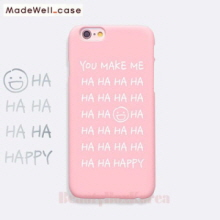 MADEWELL-CASE 1st Time Lucky HaHa Happy Pink,MADEWELL-CASE