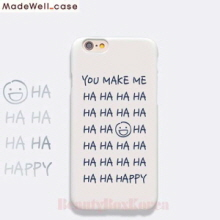 MADEWELL-CASE 1st Time Lucky HaHa Happy Grey,MADEWELL-CASE