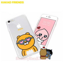 KAKAO FRIENDS 6 Items UV Clear Jelly Phone Case,KAKAO FRIENDS
