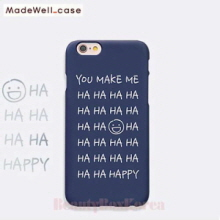 MADEWELL-CASE 1st Time Lucky HaHa Happy Navy,MADEWELL-CASE
