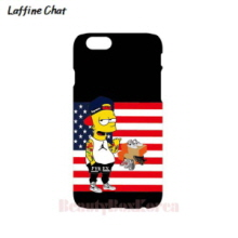 RAFFINE CHAT Simpson Stars & Stripes Black Hard Phonecase,RAFFINE CHAT