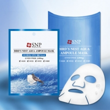 SNP Bird's Nest Aqua Ampoule Mask 25g [ 10 sheet ],SNP