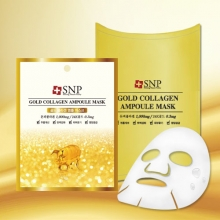 SNP Gold collagen ampoule Mask [10 sheet],SNP