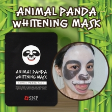 SNP Animal PANDA whitening Mask 25ml x 10 sheets,SNP