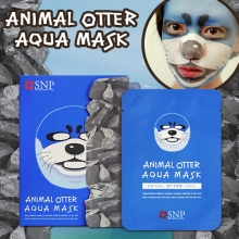SNP Animal Otter Aqua Mask 25ml*10sheet,SNP