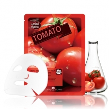MAY ISLAND Real Essense Tomato Mask Pack 25ml,MAYISLAND