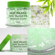 MAY ISLAND Snow Sherbet Silk Moisture Cream 100ml,MAYISLAND